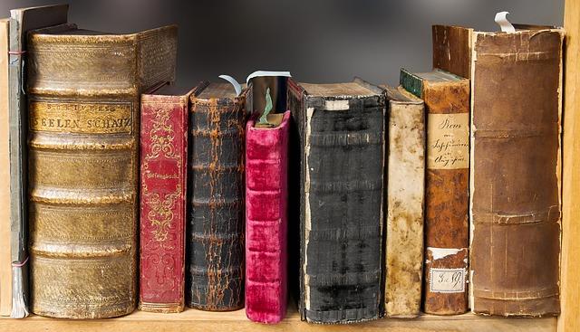 cenné knihy