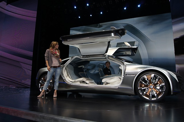 nový model vozu