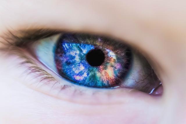 duhové oko