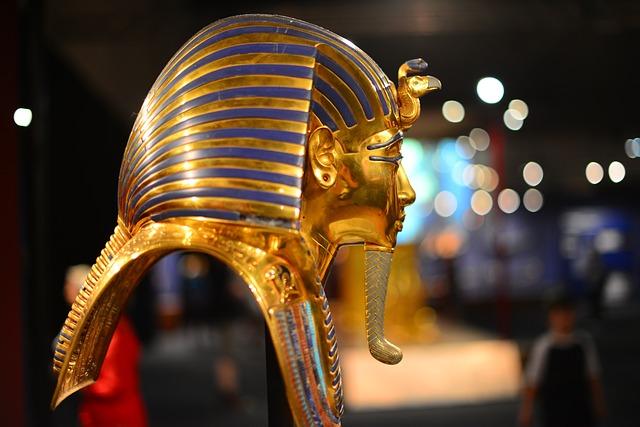 hlava tutanchamona
